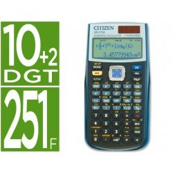 Calculadora Cientifica Citizen SR-270X 10+2 digitos