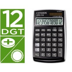 Calculadora bolsillo Citizen CPC-112 negra