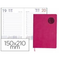 Agenda 2019 Encuadernada Kilkis Dia pagina A5 Rosa Liderpapel