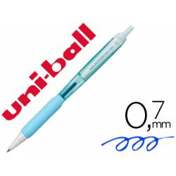 Boligrafo Uni-ball Jetstream SXN-101 Retractil 0,35 mm Azul Cielo Tinta color Azul