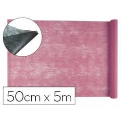 Entretela Liderpapel 25g/m2 rollo de 5m color Rosa