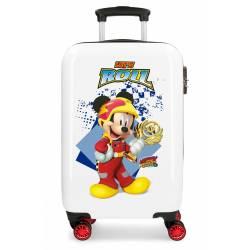 Maleta de cabina rígida Mickey Joy 55x34x20cm ABS