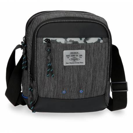 Bandolera Pepe Jeans 27x22x8 cm en Poliester Raw Porta tablet