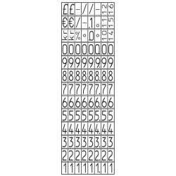 Etiquetadora Avery 1 rodillo 8 dígitos 165x280x75 mm Negra