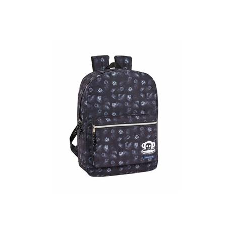 CARTERA ESCOLAR SAFTA PAUL FRANK NIGHT MOCHILA 320X430X140 MM