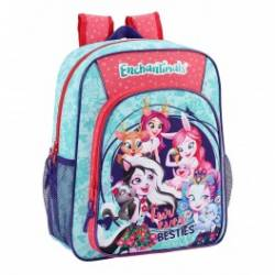 Mochila escolar Enchantimals 38x32x12 cm en Poliester Fur Ever Besties Adaptable a carro