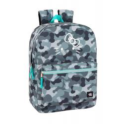 "Mochila Para Portatil 15,6"" Hello Kitty Poliester Camo"
