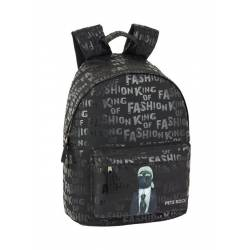 "Mochila para portatil 14"" Pets Rock Poliester Fashion"