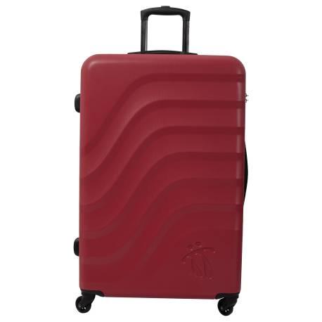 Maleta trolley grande rojo/negro - Bazy Totto 78x51x30.00cm