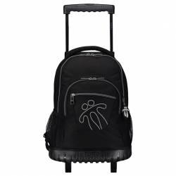 Mochila escolar con ruedas - Renglones - Niño Totto 52x37x25.00cm