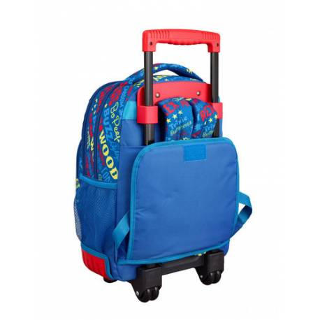seleccione para genuino obtener online los mejores precios Mochila Escolar Toy Story 4 45x32x21 cm en Poliester Con ruedas