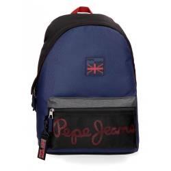 Mochila Escolar Pepe Jeans 42x31x17,5 Cm en poliester Hammer adaptable a carro
