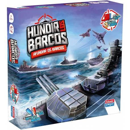 Juego de mesa Hundir los barcos Falomir Juegos