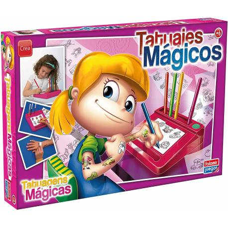 Juego de mesa Tatuajes magicos Falomir Juegos