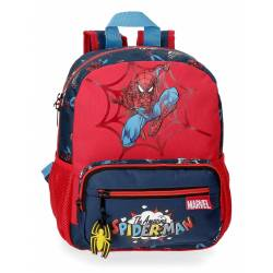 Mochila 28cm Spiderman Pop (2072121)