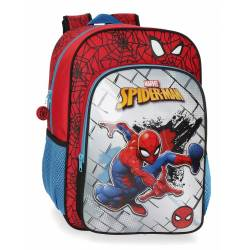 Mochila 38 cm Spiderman Red Adaptable (40423D1)