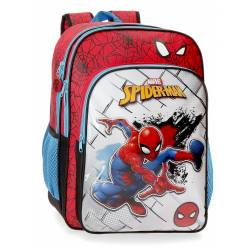 Mochila Escolar Spiderman Red Adaptable (40424D1)