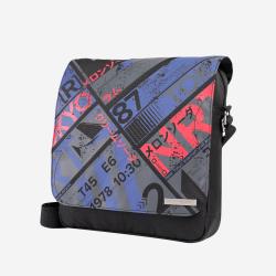 Bolso bandolera juvenil color negro - Liberte Totto 29.5x 27.5x 7.5 cm