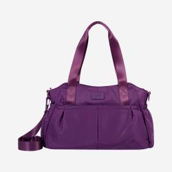 Bolso mujer color morado - Rostyck Totto 26.5x 42x 16cm