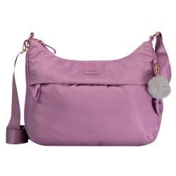 Bolso mujer color rosa pastel - Ada Totto 34 x 25 x 10 cm