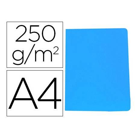Subcarpeta Gio DIN A4 250 gr Cartulina Azul
