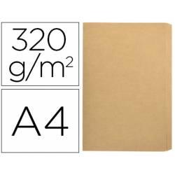 Subcarpeta Gio Folio 320 gr Kraft Bicolor con solapa