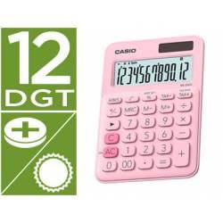 Calculadora Sobremesa Casio MS-20UC-BU 12 Digitos Rosa
