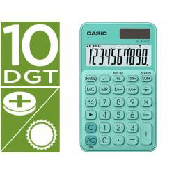 Calculadora Bolsillo Casio SL-310UC-GN con 10 digitos Verde