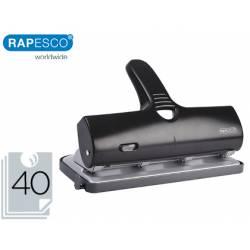 Taladrador Rapesco alu 40 capacidad 40 hojas