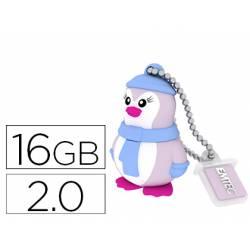 Memoria USB 16GB Pinguino Marca EMTEC