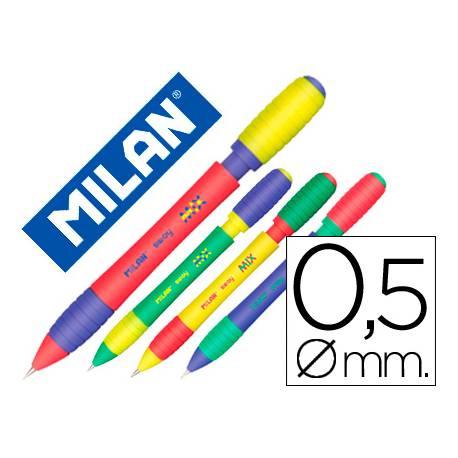 Portaminas Milán Sway 0,5mm con goma (NO SE PUEDE ELEGIR COLOR)