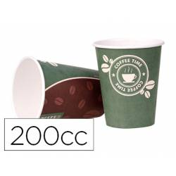 Vaso termico carton 200 cc Paquete 50 unidades