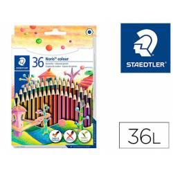 Lapices de colores Staedtler Wopex ecológicos 36 colores largos