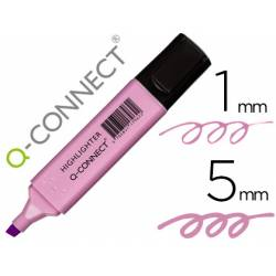 Rotulador Q-Connect Fluorescente Pastel Violeta