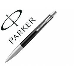 Bolígrafo Parker Urban Premium Ebony Punta 1mm Tinta Azul Negro