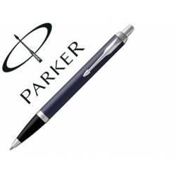 Bolígrafo Parker PK IM CT Tinta Azul Punta 1mm Azul Mate