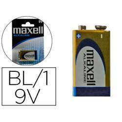 Pila Maxell Alcalina 9V LR09 Blister con 1 unidad