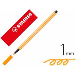 Rotulador Stabilo 68/30 1 mm Naranja