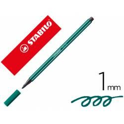 Rotulador Stabilo 68/53 1 mm Azul verdoso