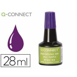 Tinta Tampon Q-Connect Violeta 28ml