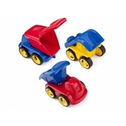 Juego de construcción a partir de 1 año Minimobil Dumpy 6 vehiculos marca Miniland