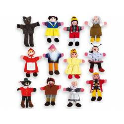 Marioneta de dedo Personajes de cuentos infantiles partir de 3 años marca Andreutoys
