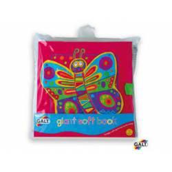 Cuento para bebes a partir de 3 meses Libro Gigante Suave marca Galt Toys