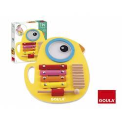 Juego para bebés a partir de 1 año Tiki musical 3 en 1 marca Goula