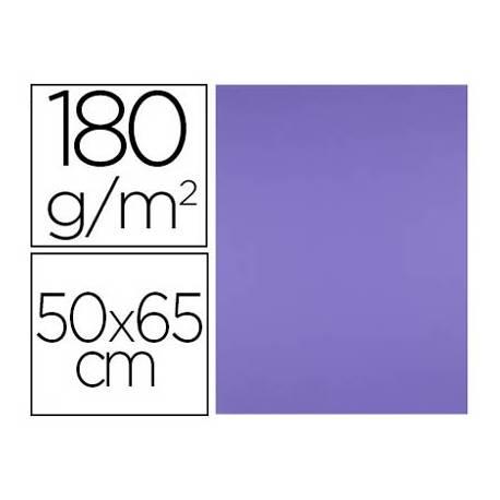 Cartulina Liderpapel Purpura 50x65 cm 180 gr 25 unidades