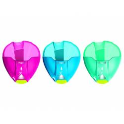 Sacapuntas Plastico Maped I-Gloo en blister 1 uso Colores surtidos