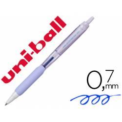 Boligrafo Uni-ball Jetstream SXN-101 Retractil 0,35 mm Lavanda Tinta color Azul