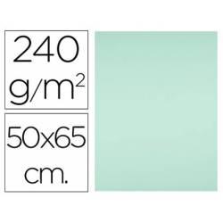 Cartulina Liderpapel Verde 50x65 cm 240 gr Paquete 25 unidades