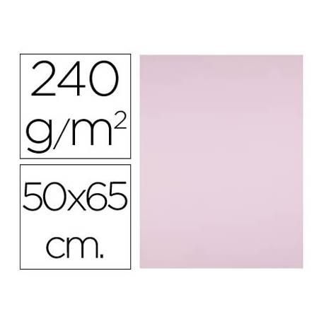 Cartulina Liderpapel Rosa 50x65 cm 240 gr Paquete 25 unidades