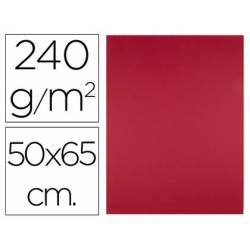 Cartulina Liderpapel Rojo Navidad 50x65 cm 240 gr Paquete 25 unidades